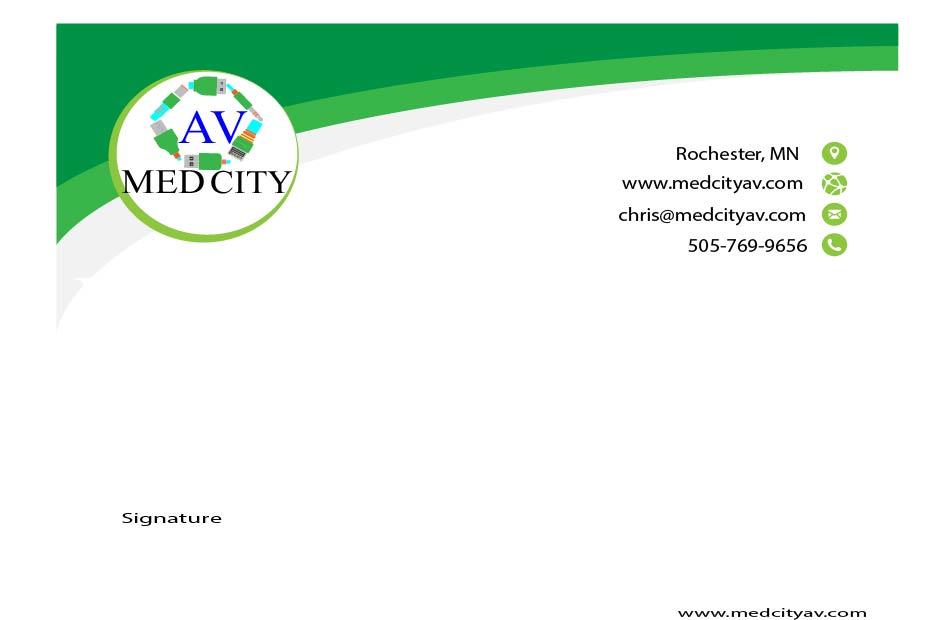 MedCityAV LetterHead Paper