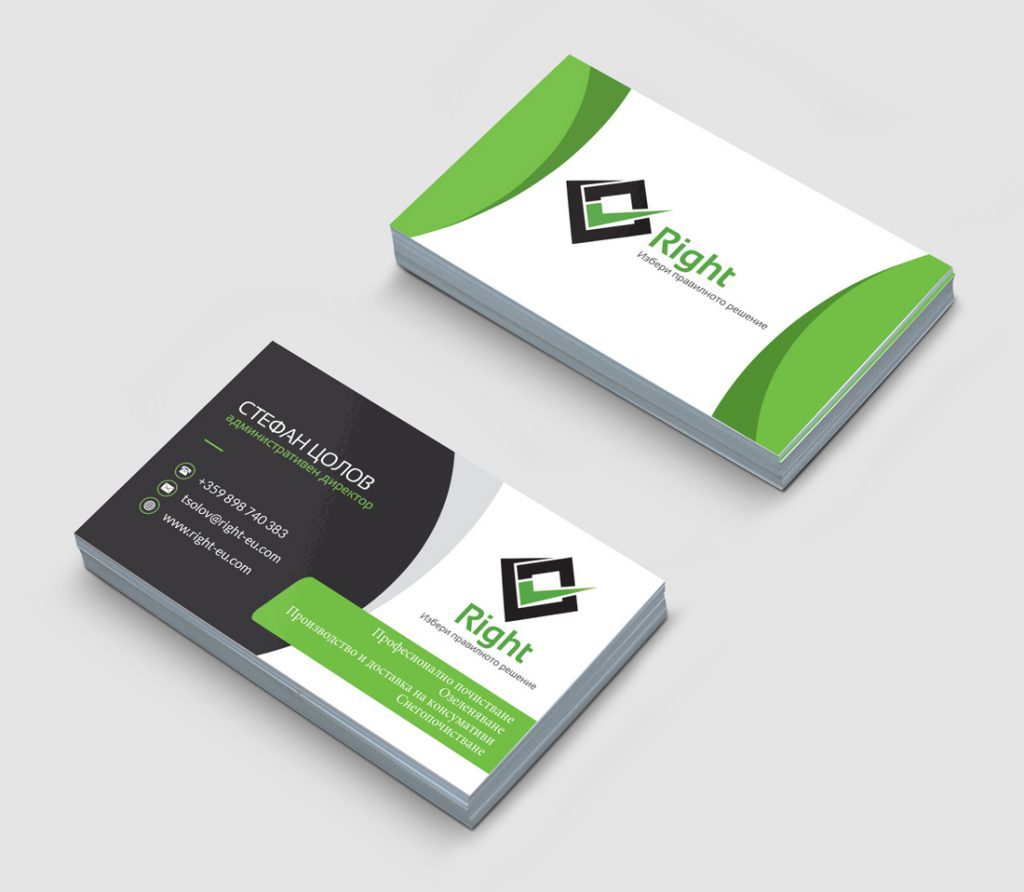 WebsManagers Stationery graphic-design-of-business-cards-for-cleaning-company