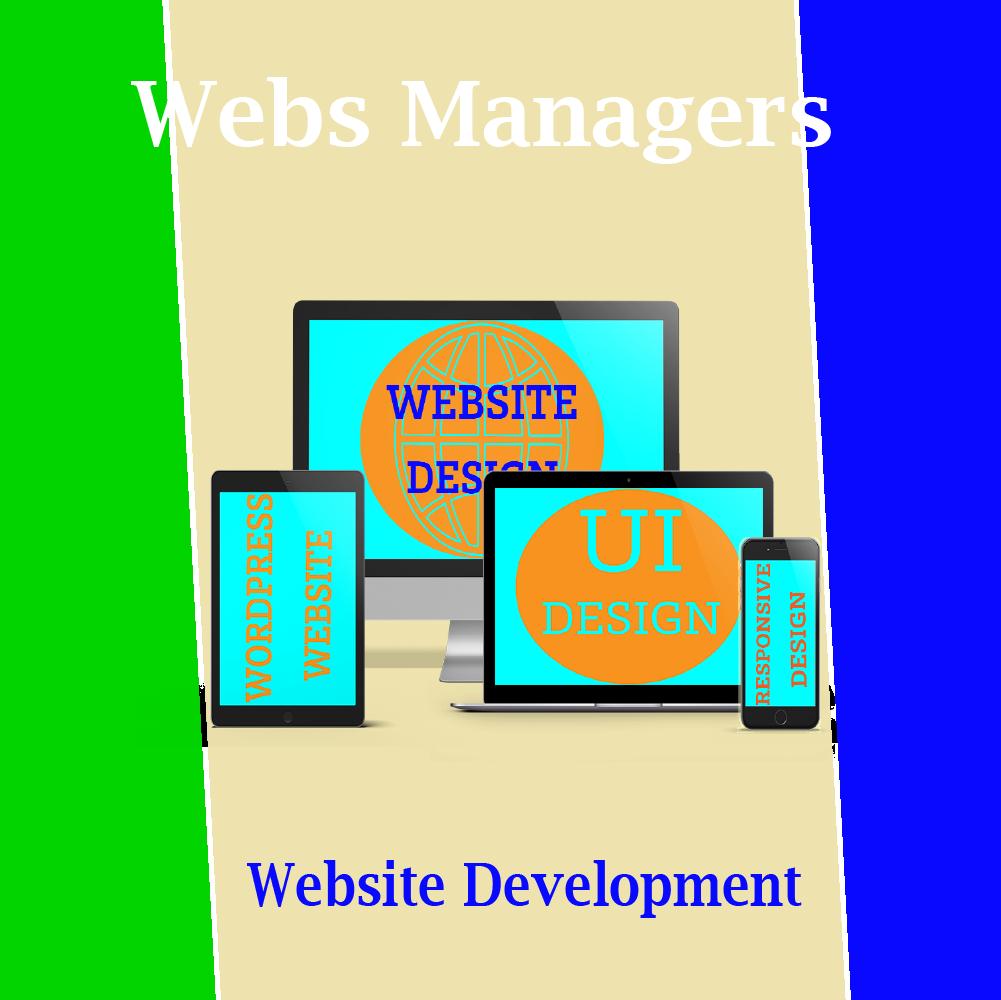 WebsManagers Website Development Services Create Responsive WordPress Website
